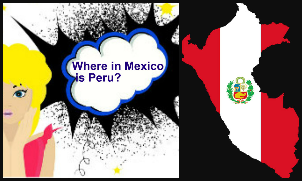 Where in Mexico is Peru?