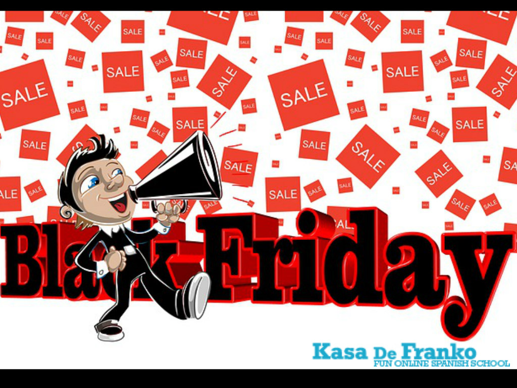 Black Friday @ Kasa De Franko: A Fun Spanish School