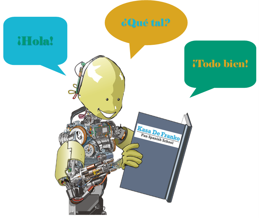 Technology is Great to Learn Spanish! But a Machine will never speak like you–or for you