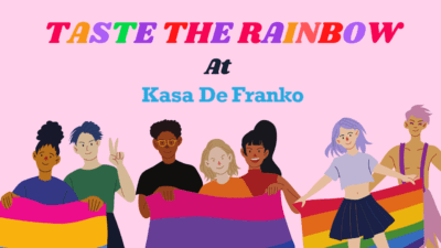 Taste the Rainbow at KDF: Leaving the Closet  On Pride Month 2020